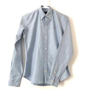 Ralph Lauren Blue Button Down Shirt 💙